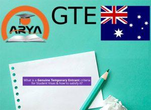 GTE یا ورود موقت چیست؟
