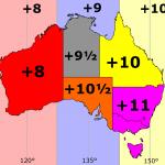 استرالیا ساعت چند است