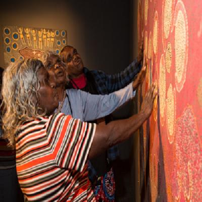 هنر بومی نمادی از مردم استرالیا