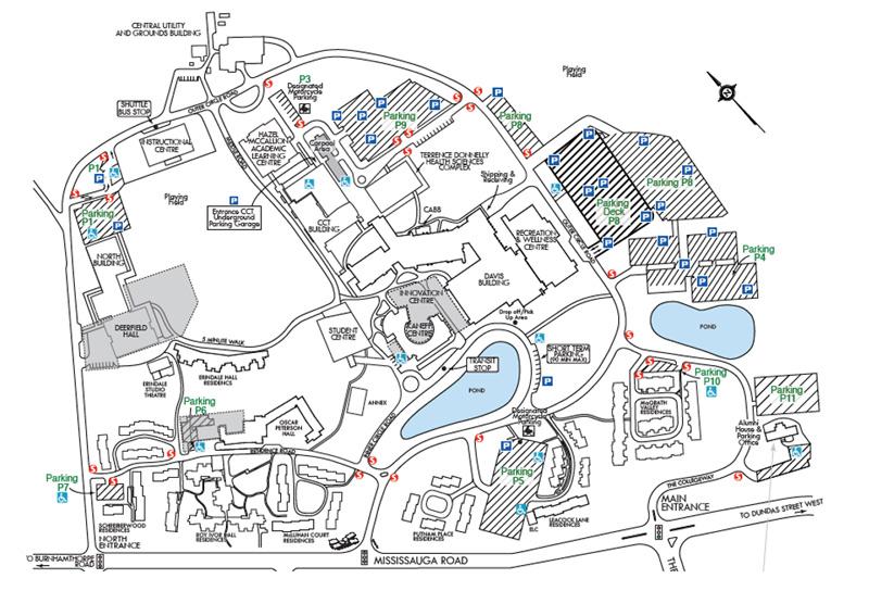 نقشهی پردیسهای دانشگاهی