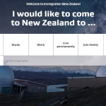 سایت رسمی مهاجرت به نیوزلند