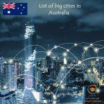 شهرهای بزرگ استرالیا