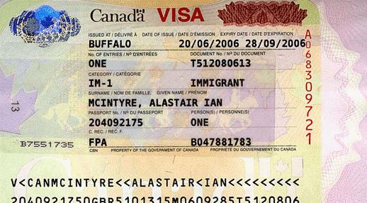 ویزای مهاجرین کانادا