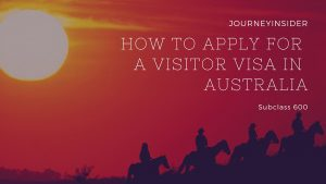 انواع ویزاهای گردشگری یا توریستی زیرکلاس 600 استرالیا کداماند؟