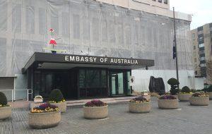 خدمات سفارت استرالیا در ایران شامل چه مواردی است؟