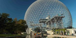 گوی فلزی مونترال (Montreal Biosphere)
