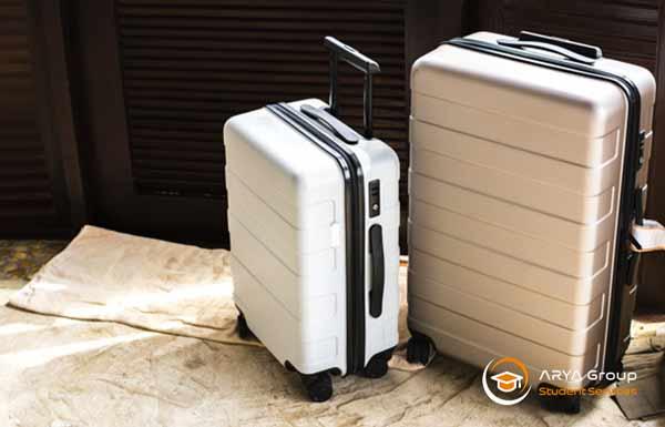 اندازه چمدان در مهاجرت تحصیلی به استرالیا